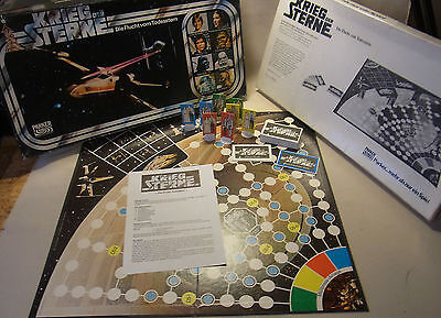 Vintage 70s Krieg der Sterne (Star Wars) Brettspiel 2-4 Spieler 1977