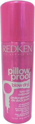 Redken Pillow Proof Blow Dry Two Day Extender Oil Absorbing Dry Shampoo 1 2Oz