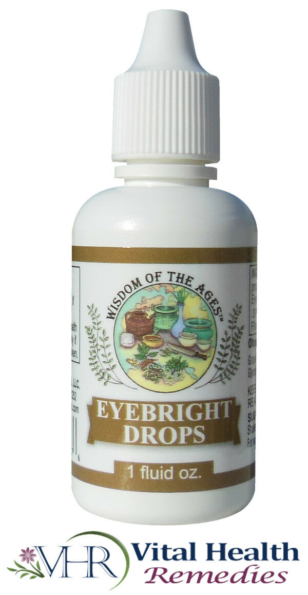 Eyebright Drops - Wisdom of the Ages, 1 fl oz.