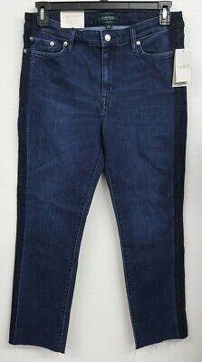 Ralph Lauren Indigo Premiere Straight Ankle Women's Jeans NWT $99.50 Choose Size