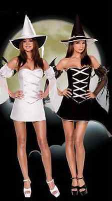Women Which Witch - Reversible Good or Bad Witch Costume Dress Halloween Size - Which Halloween Costume