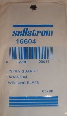 3 Sellstrom Polycarbonate Passive Welding Filter Plates No. 16604 Shade 04 Irpc