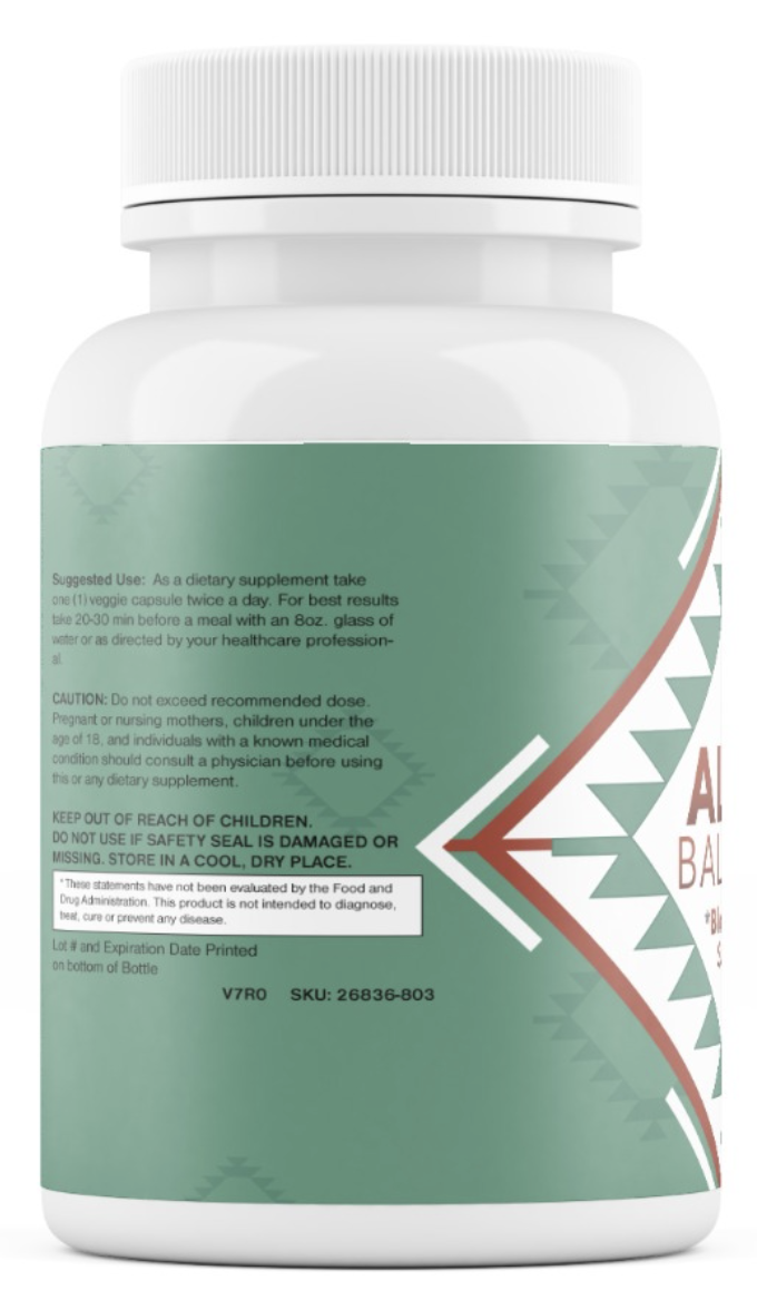 Altai Balance Herbal Supplement Supports Blood Sugar, Glucose Metabolism 60 Cap 2
