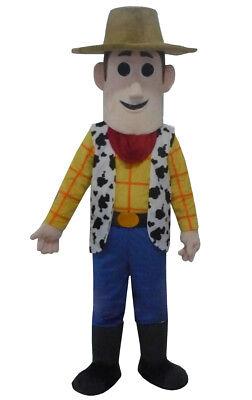 Toy Story Halloween Cartoon (NEW Toy Story Woody Adult Size Halloween Cartoon Mascot Costume Fancy Dress)