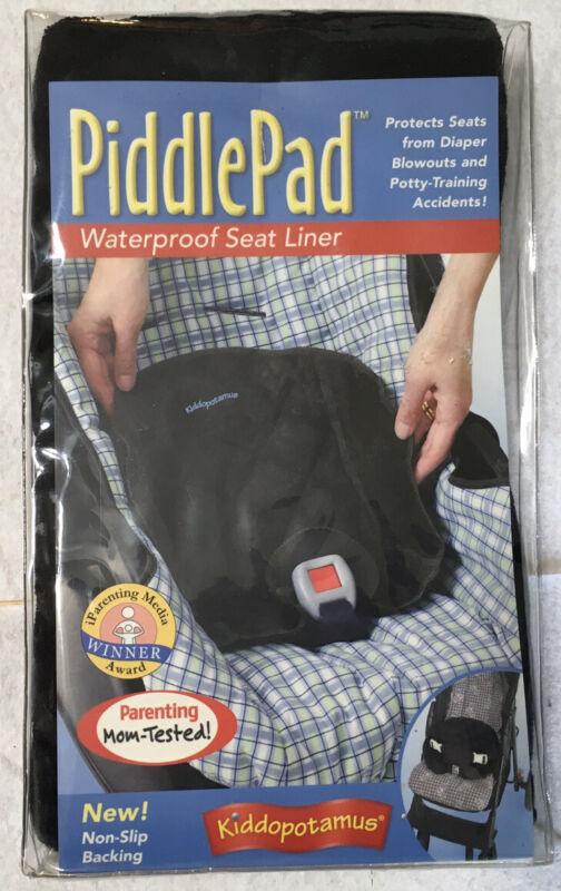 Piddle Pad Summer-Kiddopotamus Waterprrof Baby Car Seat Liner Protector New NIP
