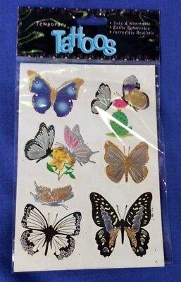 Butterfly Temporary Tatoos - - Temporary Tatoos