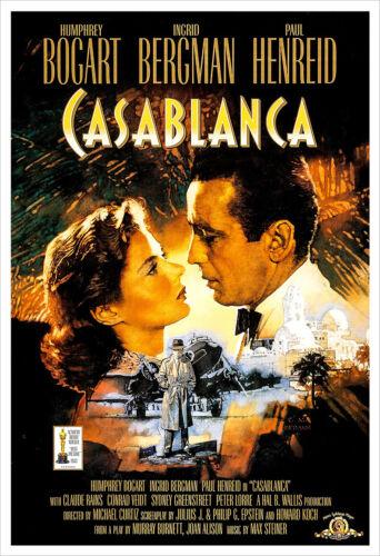 Casablanca poster print
