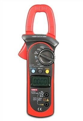 Digital Uni-t Ut203 Handheld Clamp Multimeter Tester Meter Dmm Ce Ac Dc Volt Rl