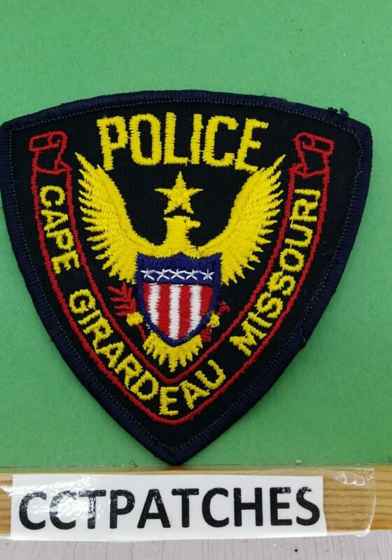 CAPE GIRARDEAU, MISSOURI POLICE STOCK EAGLE SHOULDER PATCH MO