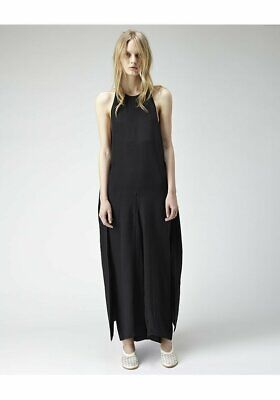 [Jasmin Shokrian Draft No.17] Silk Envelope Jumpsuit Sleeveless / Sz US 8 Black