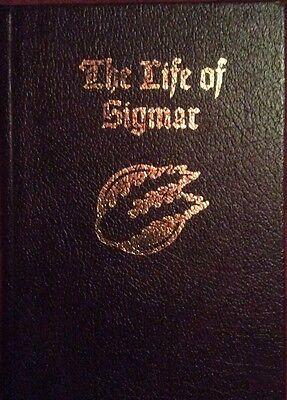Warhammer LIFE OF SIGMAR Hardcover Buch NEU