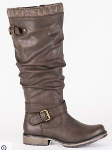 Tall Brown Harlow Boots