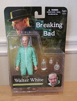 Breaking Bad Jumpsuit (Breaking Bad Walther White Blue Jumpsuit Figure mezco NEW In STOCK)