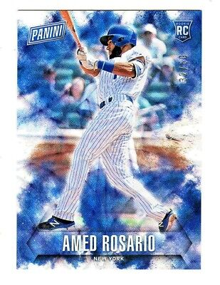 Fathers Day Frames (2018 Panini Fathers Day FUTURE FRAMES FOIL #66 AMED ROSARIO RC Rookie 32/50)
