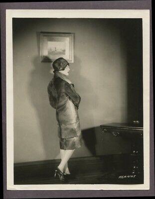 er Girl Fashion 1927 PHOTO Silent Film Glamour Star J3878 (Flapper Girl Fashion)