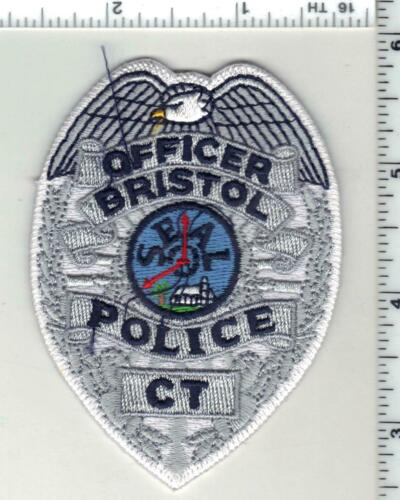 Bristol Police (Connecticut) 1st Issue Cap/Hat Patch