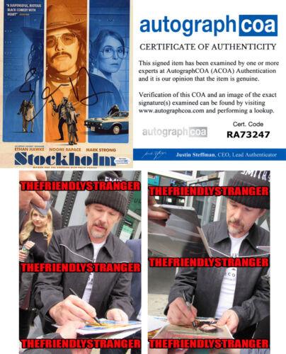 "ETHAN HAWKE signed Autographed ""STOCKHOLM"" 8X10 PHOTO A - PROOF - ACOA COA"