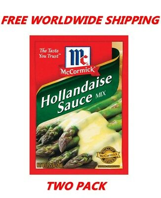 Mccormick Hollandaise Sauce Mix 1 25 Oz Pack Of Twoo Free Worldwide Shipping