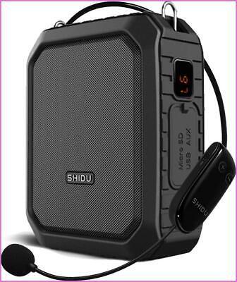 Bluetooth Voice Amplifier Speaker Waterproof, Wireless Microphone Headset