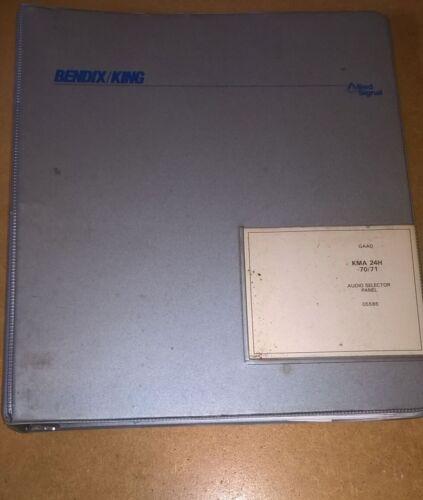 Bendix King KMA-24H-70/71 Audio Panel Install/maintenance/overhaul manual