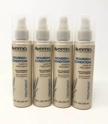 4 Aveeno Active Naturals Nourish + Condition Leave-In Treatment 5.2 Oz.
