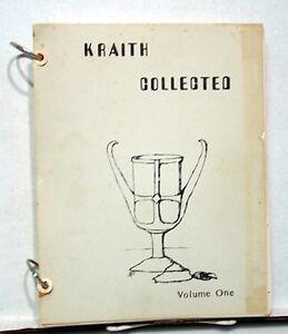 Early-1970s-Star-Trek-Fanzine-KRAITH-COLLECTED-5-Volume-Set-K5413
