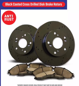 BIG PROMO! Ceramic BRAKE PADS and COATED DRILLED BRAKE ROTORS