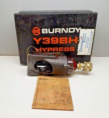 Burndy Y39bh Hypress 12-ton Remote Hydraulic Crimping Tool
