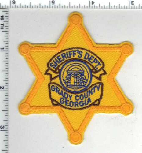 Grady County Deputy Sheriff (Georgia) Shirt/Jacket Patch - new
