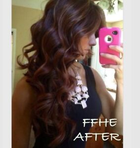 CERTIFIED PRO HAIR EXTENSIONS!! HOT FUSION TAPE IN MICROLINK!!