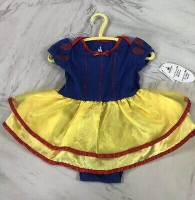 Disney Parks Authentic Baby Snow White Costume Dress Size 6M - Disney Snow White Baby Kostüm