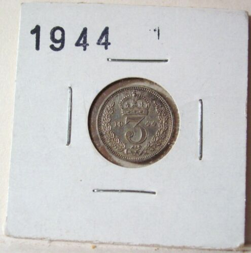 1944 G.B. MAUNDY COIN 3 PENCE