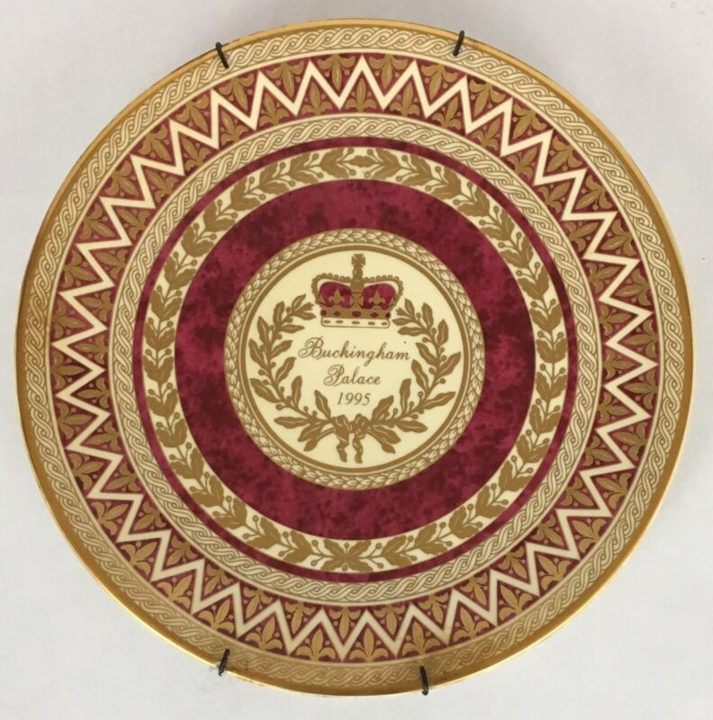 Buckingham Palace 1995 Commemorative Wall Hanging Plate Royal Queen Elizabeth II