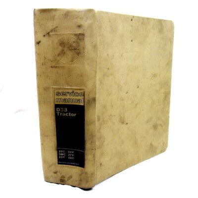 Vtg 1979 Service Manual For Caterpillar D3b Tractor 3yc 5mc 23y 24y 27y 28y