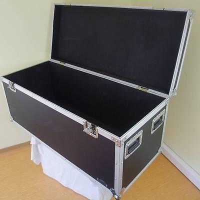 Truhencase SC-4 Transport Case Box Kiste 121x52x52 Toolcase Stacking Flightcase