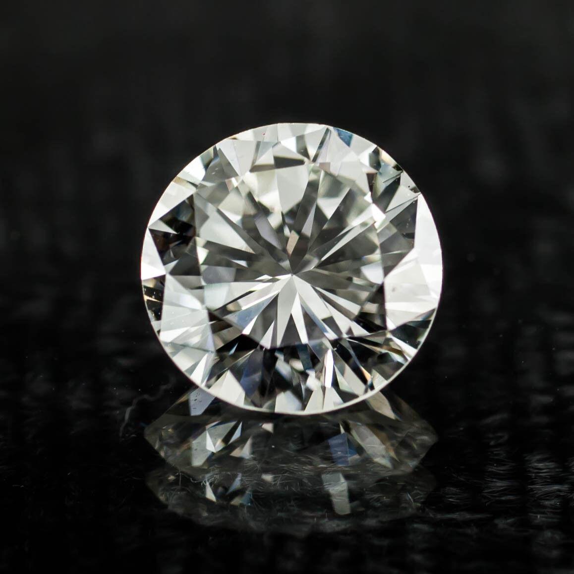 1.66 Carat Loose H / VS2 Round Brilliant Cut Diamond GIA Certified
