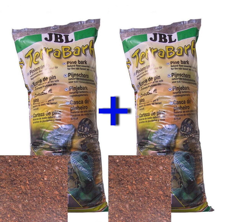 JBL TerraBark 40 L 2 x 20 L Terra Bark Körnung S-M-L Bodensubstrat