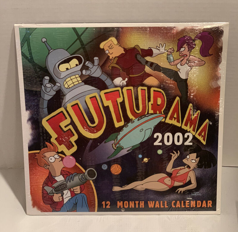 2002 Futurama Collectible New In Original Wrapping
