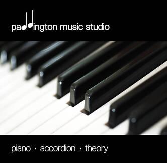 PADDINGTON MUSIC STUDIO   |   Piano - Accordion - Theory