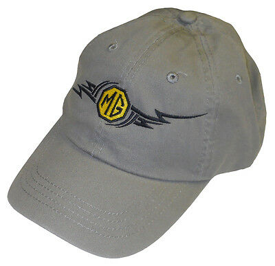 MG Tribal design embroidered hat - MGA MGB MGC Midget etc