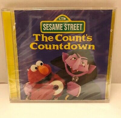 Sesame Street: The Count's Countdown MUSIC CD Children's 1997  SEALED ()