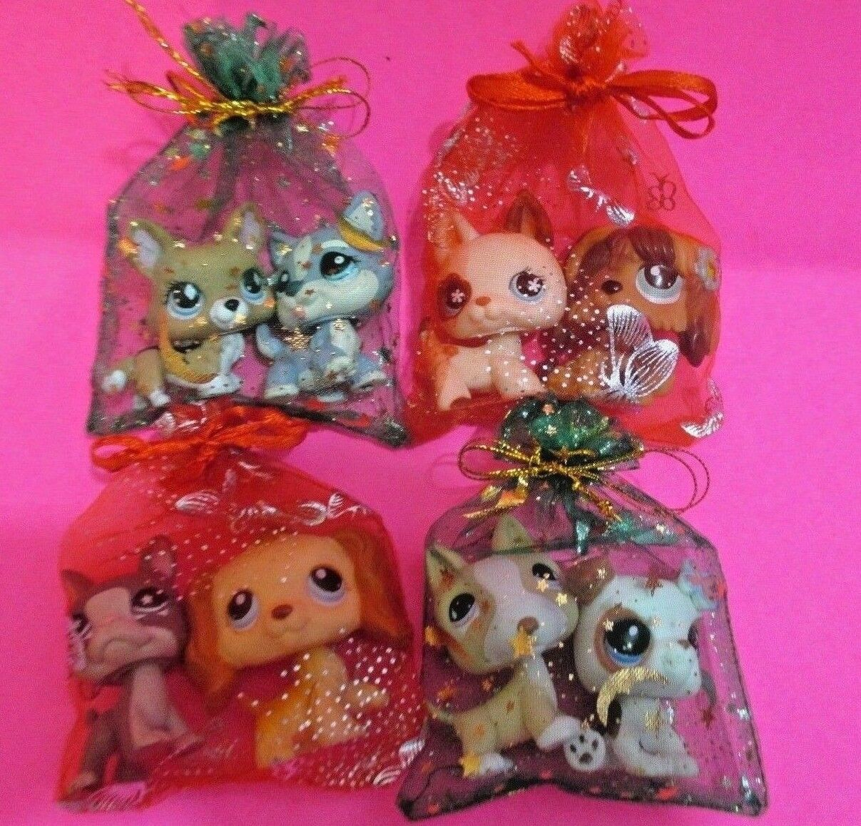 Littlest Pet Shop Lot 2 Random Puppy Dogs Figures Authentic Lps BUY 3 GET 1 FREE