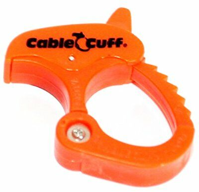 Cable Clamp Small Cable Cuff PRO Adjustable /& Reusable 2-Pack CFSP030808