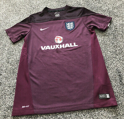 Nike Dri Fit England Training Shirt Top - Kids Size 12-13 Years
