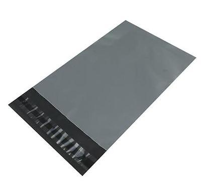 20 x Plastic Strong Packaging Postal Polythene Grey Mail Bag 9X12 inch/23x30cm
