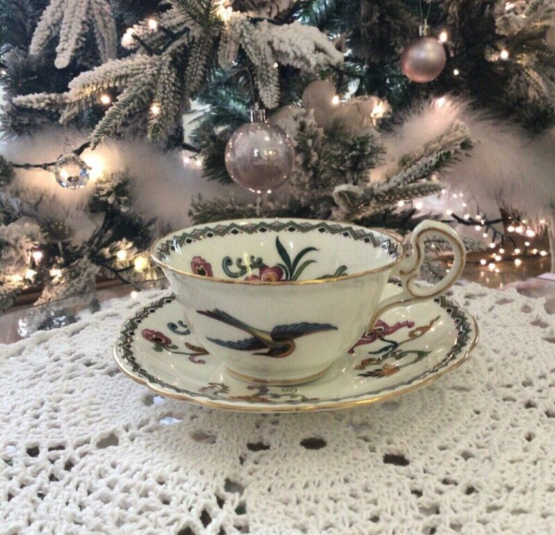 Beautiful Rare Aynsley Teacup & Saucer