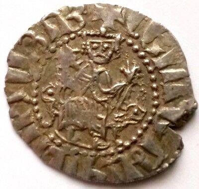 ARMENIA,Cilician Armenian King LEVON (1198-1218),Silver Tram,Lions/Cross Լեւոն Ա