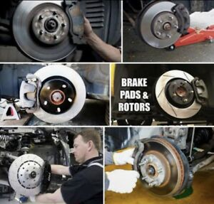 >>>BRAKE ROTORS & PADS >>>> $239.99 ONLY >>>> 35$ OIL CHANGE