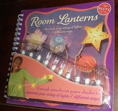 Klutz Room Lanterns Craft Book by Kate Paddock & Anne Akers Johnson 2005