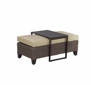 Brand new in box Patio Ottoman / Coffee table
